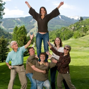 Family in Vail 159